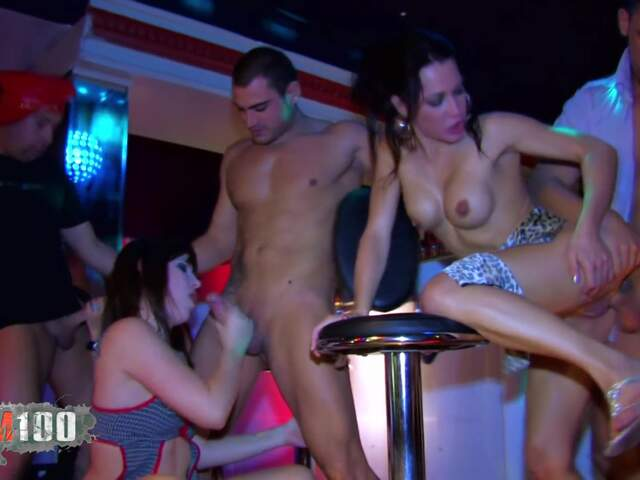 Orgy and DP for 3 nasty babes  photo 03
