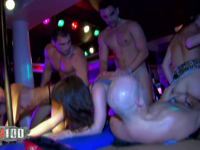 Orgy and DP for 3 nasty babes  photo 08