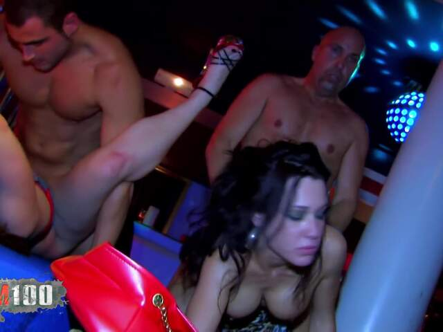 Orgy and DP for 3 nasty babes  photo 11
