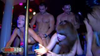 Allya Angie Kiss Shannya Tweeks Max Cortes Moisex Juan Z DP et orgie pour 3 cochonnes