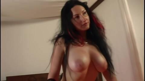 Pornostar brunette with big tits Ana M...photo 4