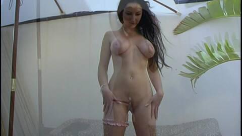 Pornostar brunette with big boobs Ana ...photo 4