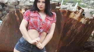 Pornostar young brunette Angell Summer...photo 3