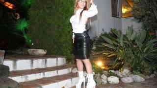 Pornostar young Aris Dark dancing and ...photo 3