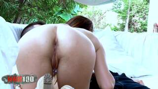 Ashley Woods Kevin White Sweet and pretty teen making love... and having sex !