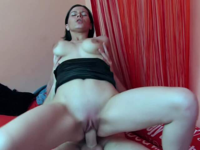 Cute busty brunette hardcore anal video  photo 09