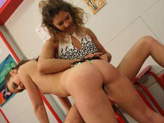 Axelle Mugler Moana 2 sexy fench babes in some lesbian hard action