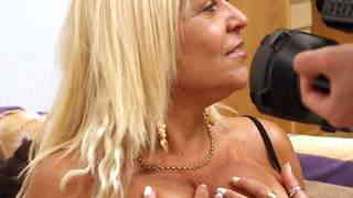 Hot mature blonde with big tits Barbar...photo 2