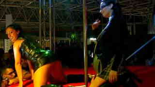 Lidya Rouge and Samantha Cruse at FICEB 2007...