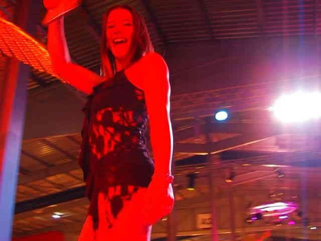 Show de Amelie Jolie y Shannya Tweeks a Besancon 2009  photo 05