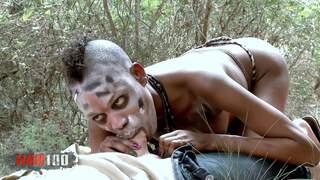 Bianka Blacka Kevin White Porn safari