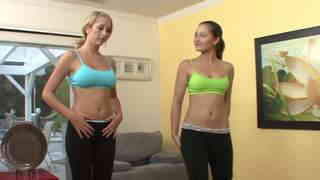 Yoga session turns naughty  photo