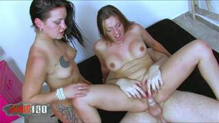 Nasty sisters get banged  photo 11