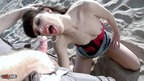 Sex at the beach - with Carol Vega! photo 3