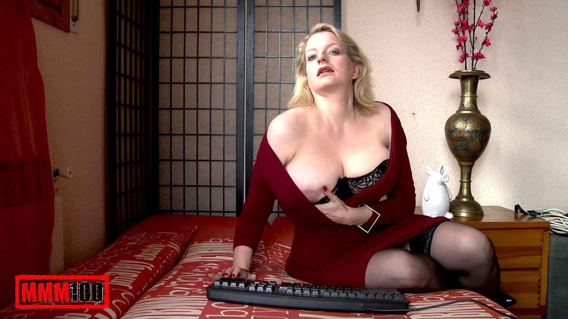 Blonde wife Angela Aspen takes fat cock