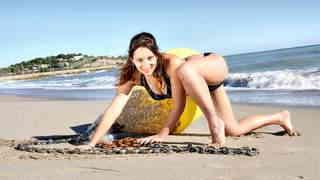 Charlotte De Castille Beach