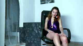 Charlotte De Castille Webcam 02 Beautiful little brunette with big boobs Charlotte De Castille dancing and stripping live on the webcam