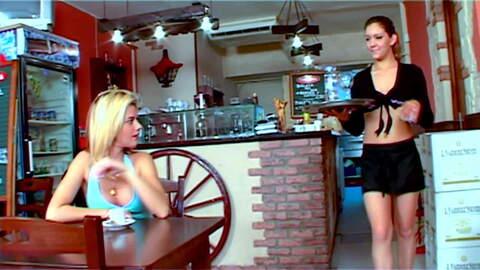 2 lesbians pornstars fucking in a ital...photo 1