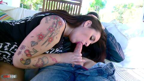 Chubby MILF fucks a young dude photo 3