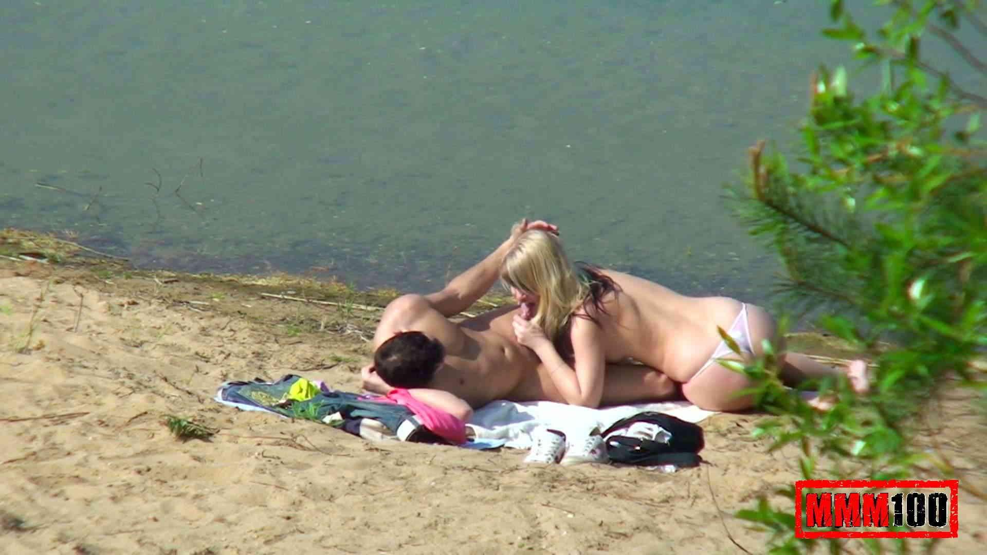 Секс на пляже подглядывание 15 фотография