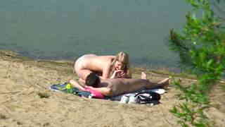 Spied having sex at the beach  photo 07