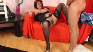 Old slut likes young and big cocks  photo 02