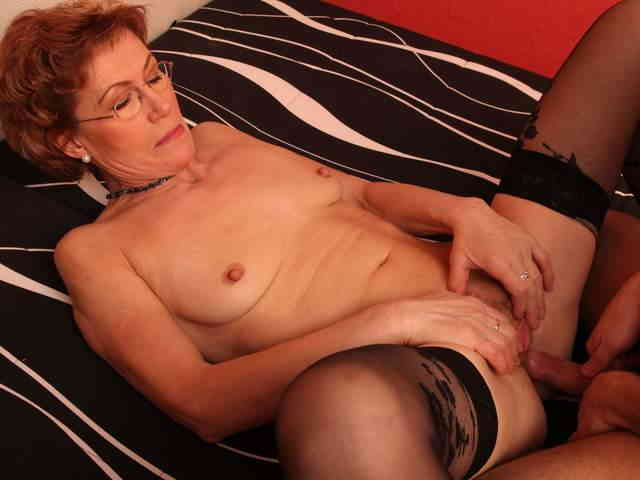 Mature nasty chick likes young cocks  photo 11