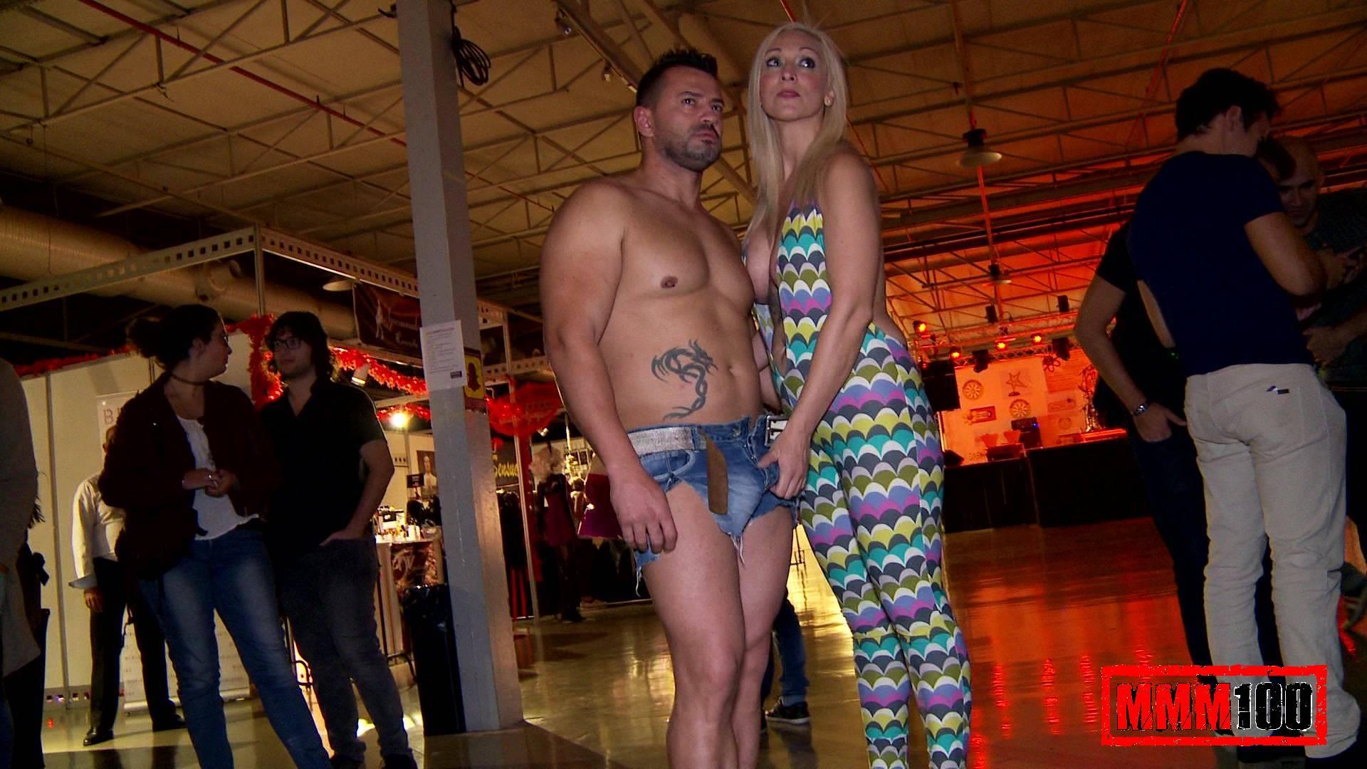 Bryan de la vega y maria follando entre el publico semad - 1 part 5