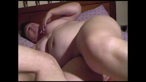 Ugly BBW mature whore fucking with her...photo 4