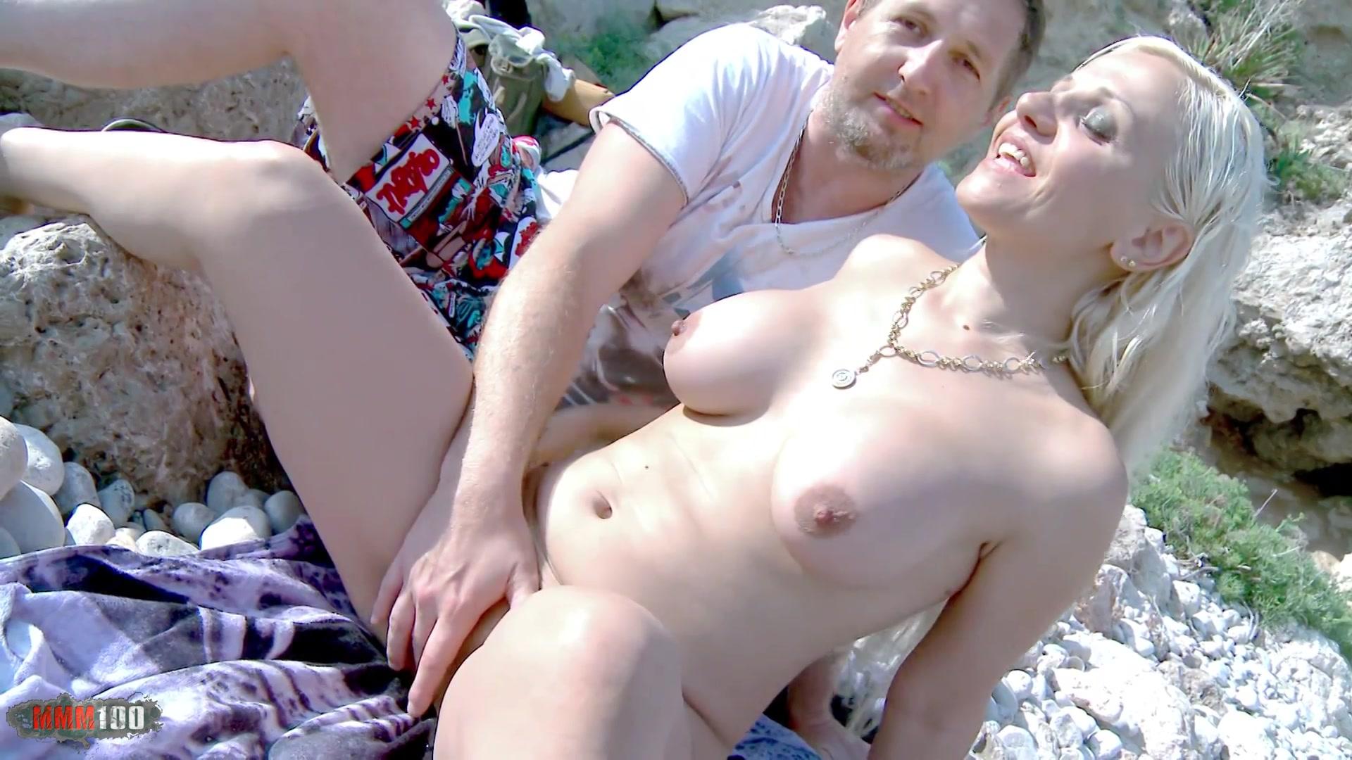 baise inconnus sur plage