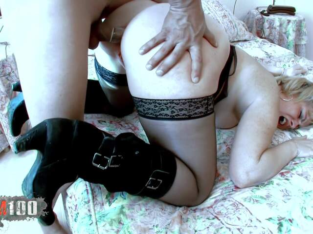 Plump bitch gets it in tha ass !!!  photo 13