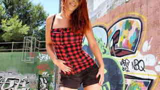 Hot redhead Dixie ...photo 1