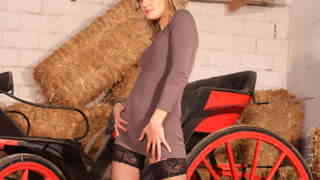 Hot blonde Evy Sky removing clothes  photo 3