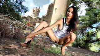 Pornstar brunette Francys Belle dancing and stripping   photo 11