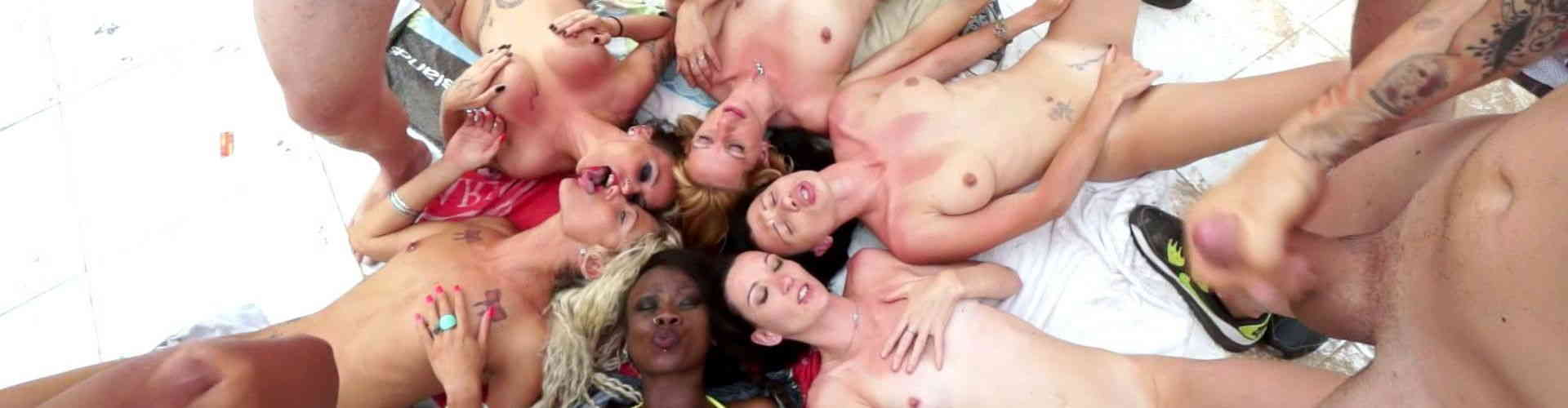 Porn video : Culanta : the total orgy !