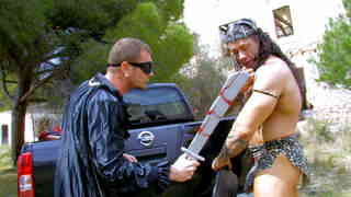Conan the barbarian has a huge cock !  photo 01
