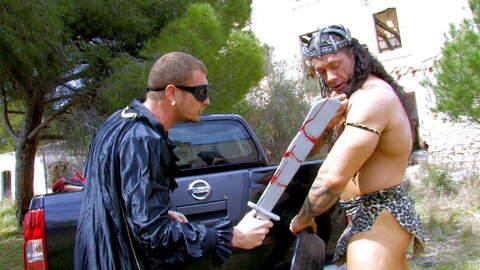 Conan the barbarian has a huge cock ! ...photo 1