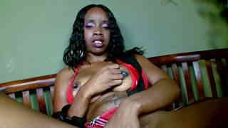 Horny ebony with big boobs Hypnotiq removing clothes   photo 05