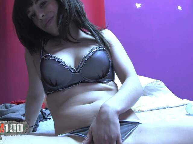 Nice petite Ina Cherry stripping live on the webcam   photo 06