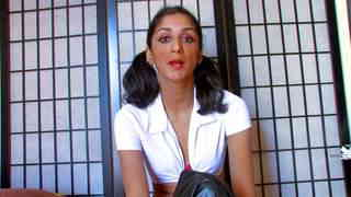 Video interview porno with Indiana Fox   photo 06