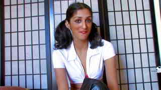 Video interview porno with Indiana Fox   photo 08