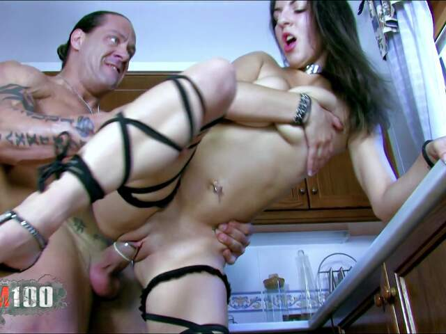 Isabelle getting nailed in the kitchen  photo 06