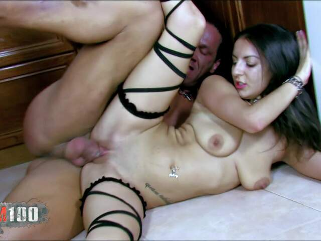 Isabelle getting nailed in the kitchen  photo 11
