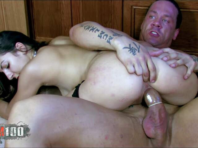 Isabelle getting nailed in the kitchen  photo 15