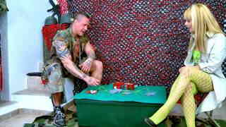 Sergeant rob likes poker and s