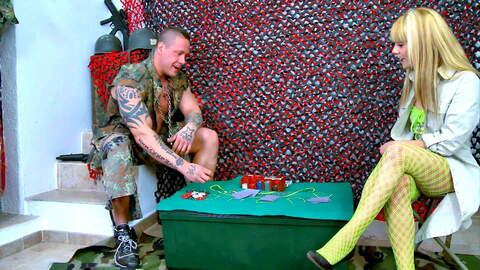Sergeant Rob likes poker and sex! photo 1