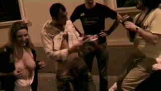 Jody Jorge Exhib A public blow job after a party