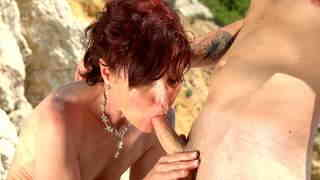 Joycelina Kevin White Hot French MILF on a sunny beach