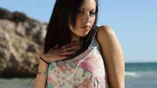 Pretty arab brunette with big boobs Ka...photo 3