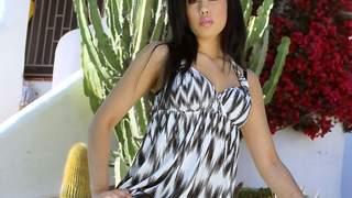 Hot arab brunette with big tits Karmen...photo 1